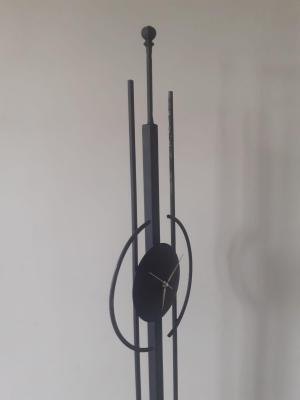 Metal Dekoratif Yer Saati-3