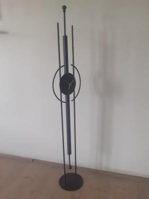Metal Dekoratif Yer Saati-2