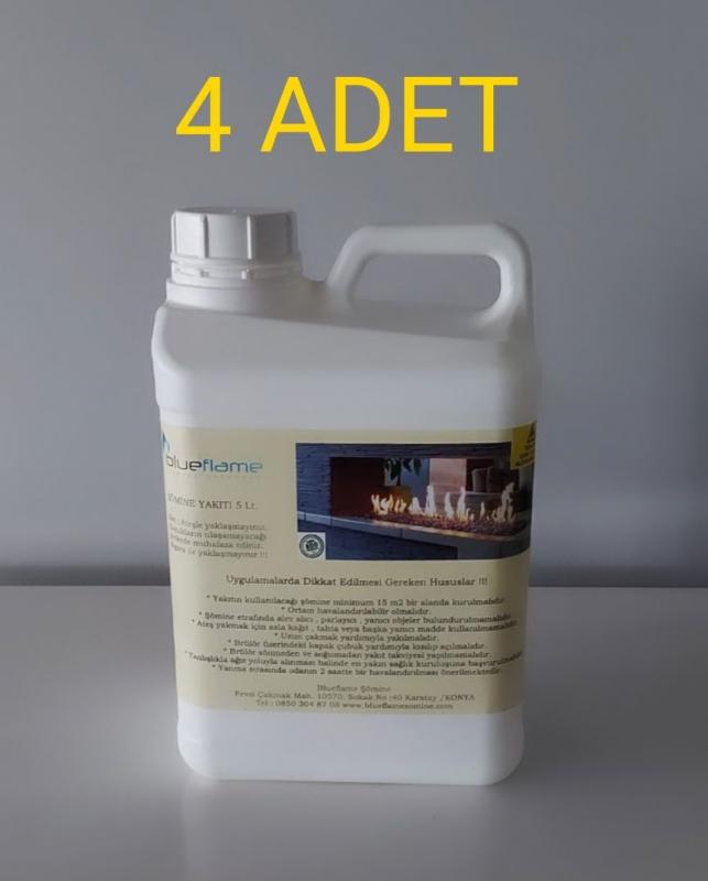 Bio Ethanol Şömine Yakıtı 20 Litre