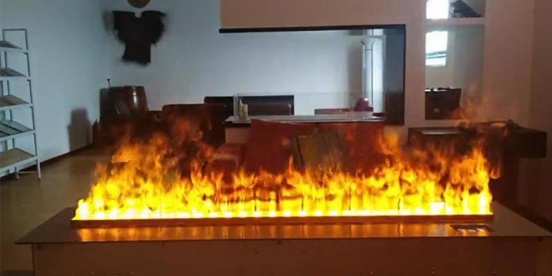 3D Su Buharlı Elektrikli Şömine 80